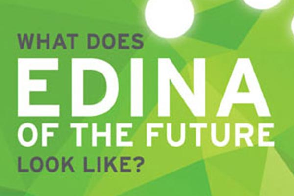 What does Edina of the future look like? Vision Edina