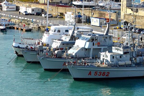 Mediterranean Sea Ports Boats