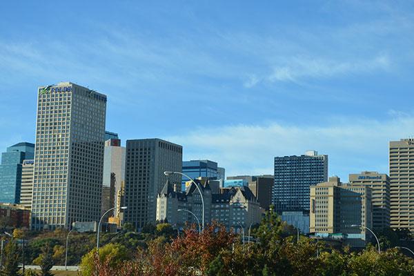 The City of Alberta Canada