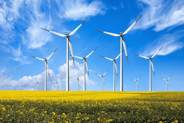 Windmills in Alberta, Canada