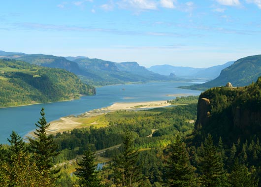 Columbia River Gorge, Oregon, USA (2015-2016)