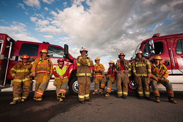 Firefighters in Alberta - Volunteer Alberta, Community Engagement