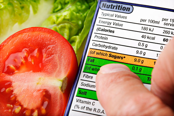 Examine food labels - Future Thinking