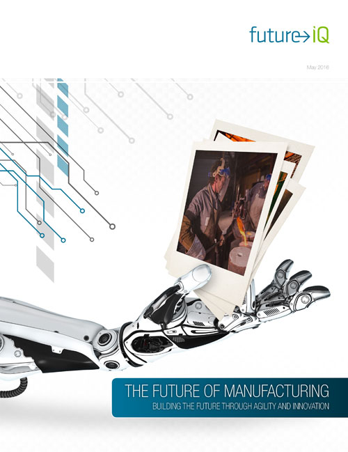 Future of Manufacturing - Future iQ - Report Cover