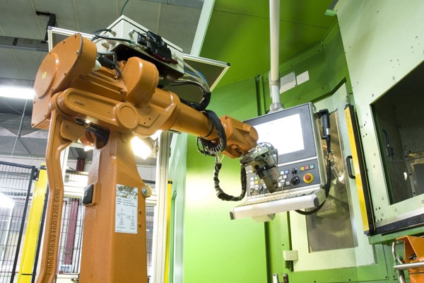 Robotic manufacturing of products