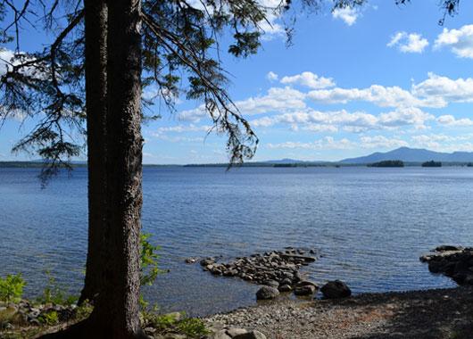 Región del Lago Moosehead – Maine EEUU