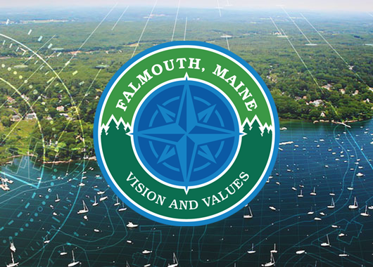 Town of Falmouth Vision and Values project, Maine, USA (2020-2021)